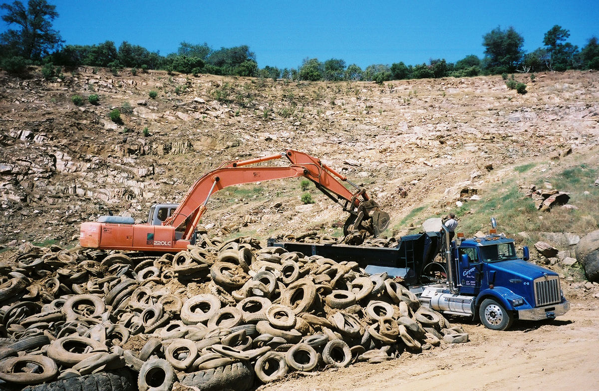 Landfill Closure - Get Rid of the Tires!