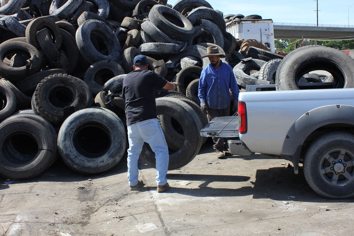 Tire Retailer Self Haul to Drop Off