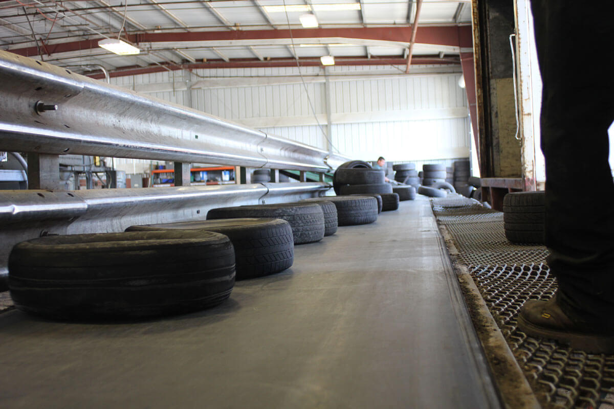 Tire Receiving Stockton Plant